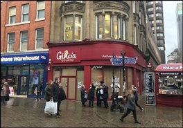 688 SF High Street Shop for Rent  |  78 Market Street, Manchester, M1 1PD