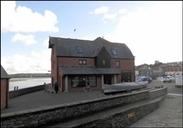 487 SF High Street Shop for Rent  |  Red Brick Building, Padstow, PL28 8AF