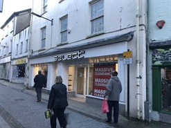 2,800 SF High Street Shop for Rent  |  20-20a Bridge Street, Haverfordwest, SA61 2AD