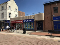 1,132 SF High Street Shop for Rent  |  47 Bedford Street, North Shields, NE29 0SZ