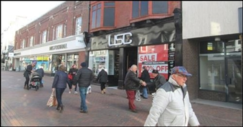 1,798 SF High Street Shop for Rent  |  8A-8B St. Mary Street, Weymouth, DT4 8PB