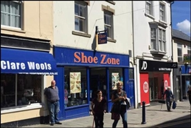 1,765 SF High Street Shop for Rent  |  11 Great Darkgate Street, Aberystwyth, SY23 1DE