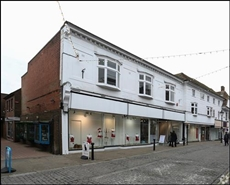 949 SF High Street Shop for Rent  |  2 North Street, Ashford, TN24 8JN