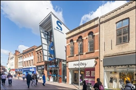 2,806 SF Shopping Centre Unit for Rent  |  Unit 3, Sailmakers Shopping Centre, Ipswich, IP1 3BB