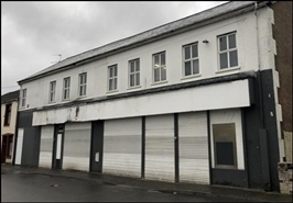 5,990 SF High Street Shop for Sale  |  62 Tramway Road, Aberdare, CF44 9PA