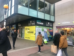 1,627 SF High Street Shop for Rent  |  Unit E2B City Tower, Manchester, M1 4AH
