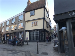377 SF High Street Shop for Rent  |  21 Lower Goat Lane, Norwich, NR2 1EL