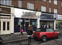 630 SF High Street Shop for Rent  |  273 High Road, Loughton, IG10 1AH
