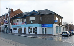 485 SF High Street Shop for Rent  |  Crossgate House, Manchester, M34 2AF