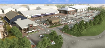 Retail Park Unit for Rent | Opportunities - Whitley Road Retail Park, Newcastle upon Tyne, NE12 9SR