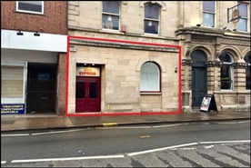 1,042 SF High Street Shop for Rent  |  54 High Street, Grantham, NG31 6LT