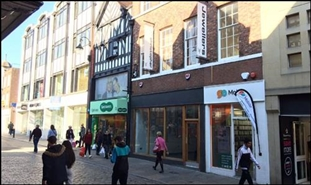 549 SF High Street Shop for Rent  |  38 Northgate Street, Chester, CH1 2HA