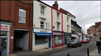 276 SF High Street Shop for Sale  |  10 Worcester Road, Bromsgrove, B61 7AE