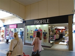 1,724 SF Shopping Centre Unit for Rent  |  Unit 12 & 13, The Rhiw Shopping Centre, Bridgend, CF31 3BL