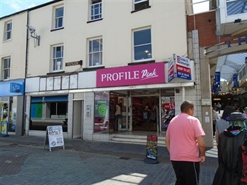 1,676 SF Shopping Centre Unit for Rent  |  20-22 Caroline Street, Bridgend, CF31 3BL