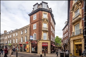 949 SF High Street Shop for Rent  |  25 Sidney Street, Cambridge, CB2 3HW