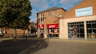 595 SF Shopping Centre Unit for Rent  |  Unit 17, St Marys Place Shopping Centre, Market Harborough, LE16 7DR