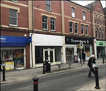 922 SF High Street Shop for Rent | 110 Holton Road, Barry, CF63 4HJ