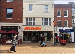 3,170 SF High Street Shop for Rent  |  9 High Street, Chelmsford, CM1 1XL