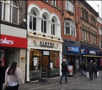 1,220 SF High Street Shop for Rent  |  20 Richmond Street, Liverpool, L1 1EF