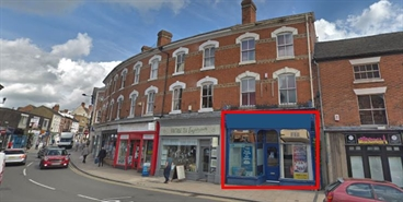 891 SF High Street Shop for Rent  |  36 Market Place, Uttoxeter, ST14 8HP