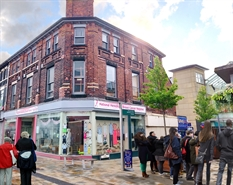 1,566 SF High Street Shop for Rent  |  87-91 Princes Street, Stockport, SK1 1PD