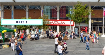 12,310 SF Shopping Centre Unit for Rent  |  Unit 1, Williamson Square, St Johns Centre, Liverpool, L1 1LY