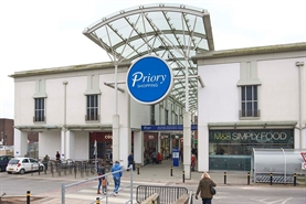 497 SF Shopping Centre Unit for Rent  |  Unit 20B, The Priory Shopping Centre, Worksop, S80 1JR