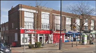 940 SF High Street Shop for Rent  |  138 - 140 Stafford Road, Wallington, SM6 9BS