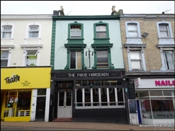 700 SF High Street Shop for Rent  |  The Four Horsemen, Bournemouth, BH2 5RT