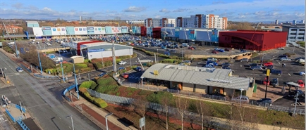 3,033 SF Retail Park Unit for Rent  |  Unit B1 West One Retail Park, Manchester, M50 1ZD