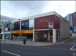 2,265 SF High Street Shop for Rent  |  34 Mayflower Street, Plymouth, PL1 1QX