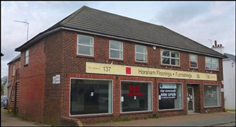 4,488 SF High Street Shop for Rent  |  137 - 139 Crawley Road, Horsham, RH12 4HH