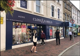 3,995 SF High Street Shop for Rent  |  113 - 115 Mount Pleasant Road, Tunbridge Wells, TN1 1QS