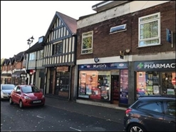 478 SF High Street Shop for Rent  |  4 The Green, Birmingham, B38 8SD