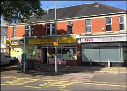 871 SF High Street Shop for Rent  |  161 - 163 Pantbach Road, Cardiff, CF14 1TZ