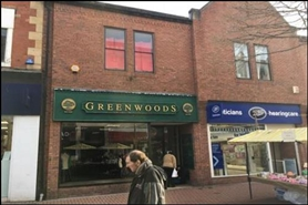 1,021 SF High Street Shop for Rent  |  13 Bridge Street, Worksop, S80 1DP