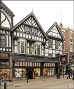 3,684 SF High Street Shop for Rent  |  22 - 24 Eastgate Street, Chester, CH1 1LE
