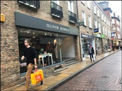1,140 SF High Street Shop for Rent  |  30 Sidney Street, Cambridge, CB2 3HS