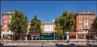 1,040 SF High Street Shop for Rent  |  146 - 158 Kensington High Street, London, W8 7RL