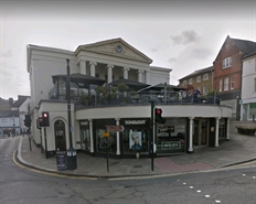 914 SF High Street Shop for Rent  |  3 MARKET SQUARE, BISHOPS STORTFORD, CM23 3UU