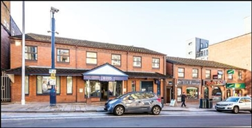 1,632 SF High Street Shop for Rent  |  1 - 3 Trinity Street, Stoke On Trent, ST1 5RW