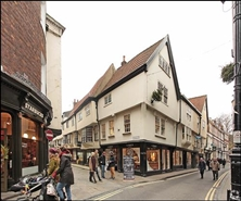 709 SF High Street Shop for Rent  |  60 Stonegate, York, YO1 8AS