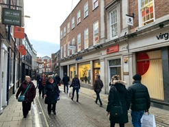 832 SF High Street Shop for Rent  |  4 New Street, York, YO1 8RA