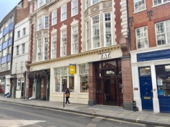 1,522 SF High Street Shop for Rent  |  60 St Martin's Lane, London, WC2N 4JS