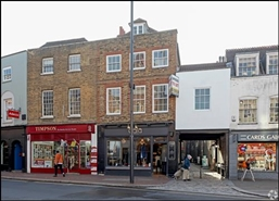 550 SF High Street Shop for Rent  |  7 Sheen Road, Richmond, TW9 1AA