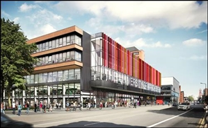 3,175 SF Shopping Centre Unit for Rent  |  University Green, Manchester, M13 9RN