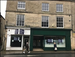 1,235 SF High Street Shop for Rent  |  Unit 1, Warminster, BA12 9AY