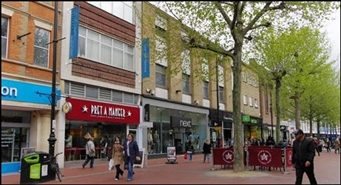 9,622 SF High Street Shop for Rent  |  58 Broad Street, Reading, RG1 2AP