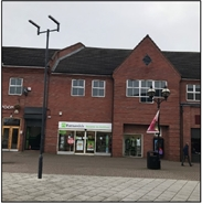 840 SF High Street Shop for Rent  |  Unti 3, Holden Way, Mere Green, B74 2UG